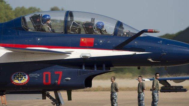 So kopiert China die Waffensysteme des Westens (Bild: APA/AFP/Nicolas Asfouri)