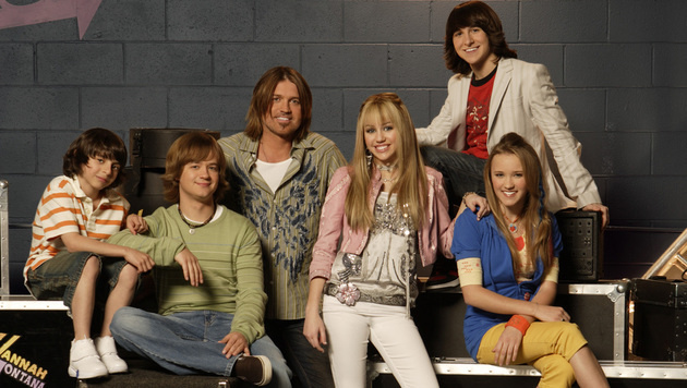 Miley Cyrus in ihrer Rolle als Hannah Montana (Bild: Hollywood Picture Press/face to face)