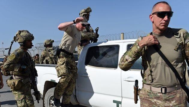 US-Soldaten beim Einsatz in Afghanistan (Archivbild) (Bild: APA/AFP/WAKIL KOHSAR)
