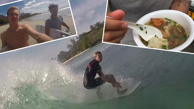 Diese Suppe lässt Surfer-Herzen höherschlagen (Bild: Max Matissek)