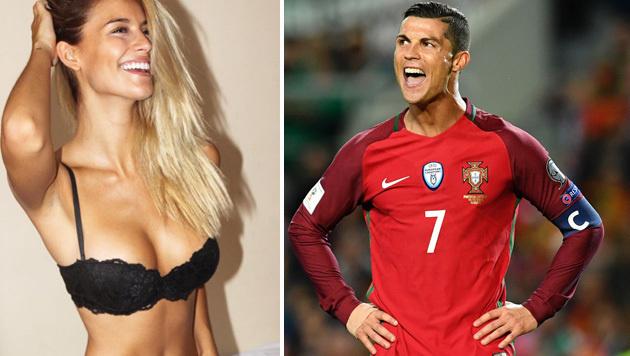 Liebes-Aus: Hat Ronaldo dieses Model abserviert? (Bild: APA/AFP/FRANCISCO LEONG, instagram.com)
