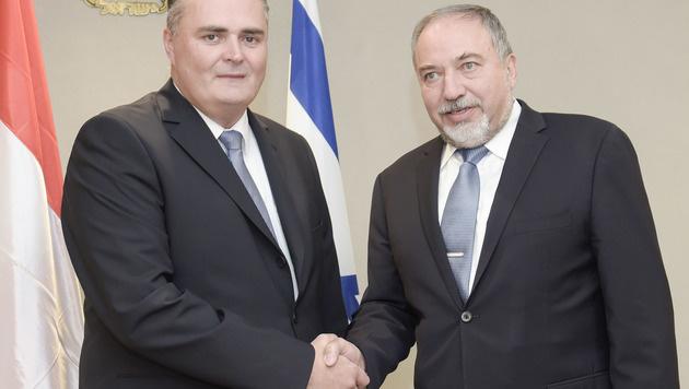 Österreich kooperiert bei Cyber-Abwehr mit Israel (Bild: APA/HBF/PUSCH)