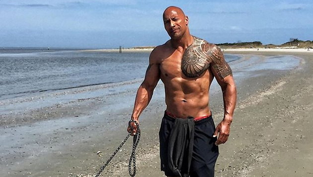 Dwayne Johnson (Bild: Viennareport)