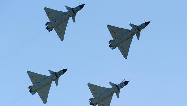So kopiert China die Waffensysteme des Westens (Bild: Frederic J. Brown/AFP/picturedesk.com)