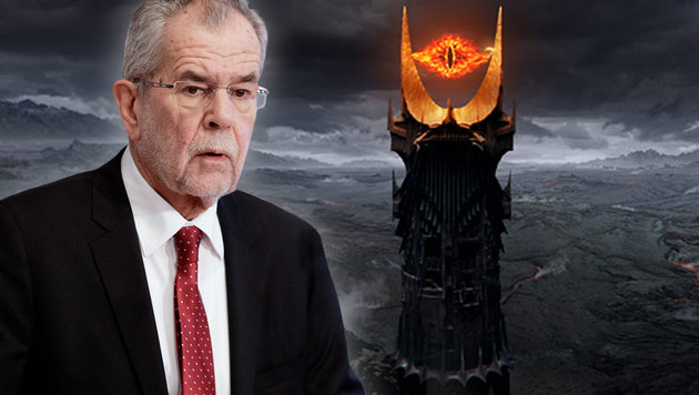 "Van der Bellen warnt vor ""Alpen-Mordor"" mit Hofer (Bild: APA, New Line Cinema)"
