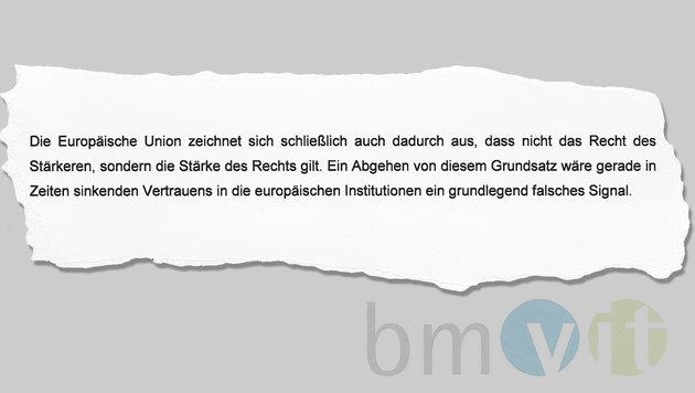 Deutsche Pkw-Maut: Wien droht erneut mit EU-Klage (Bild: bmvit)