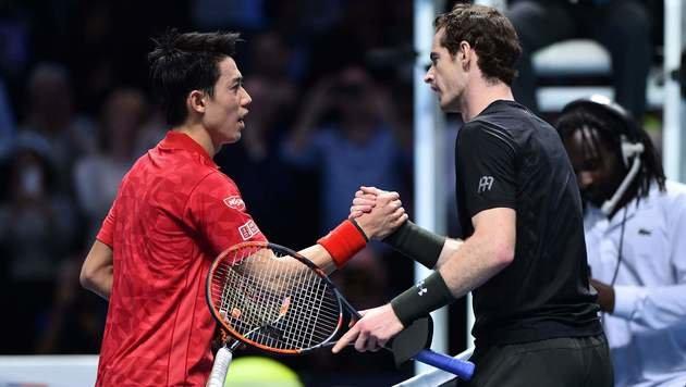 Murray gewinnt irren Thriller gegen Nishikori (Bild: AFP)