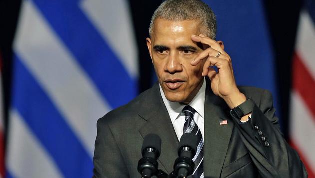 Obama verabschiedet sich von seinen Fans in Europa. (Bild: ASSOCIATED PRESS)