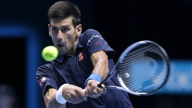 Novak Djokovic nach Sieg über Raonic im Halbfinale (Bild: AP)