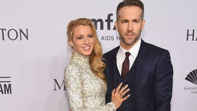 Blake Lively und Ryan Reynolds (Bild: APA/AFP/GETTY IMAGES/Michael loccisano)