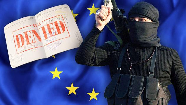 So will uns die EU künftig vor Terror schützen (Bild: EPA/MOHAMMED JALIL, thinkstockphotos.de)