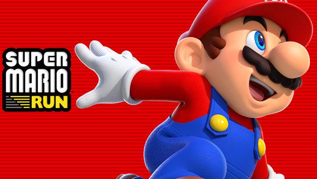 """""""Super Mario"""" rennt am 15. Dezember aufs iPhone (Bild: Nintendo)"""