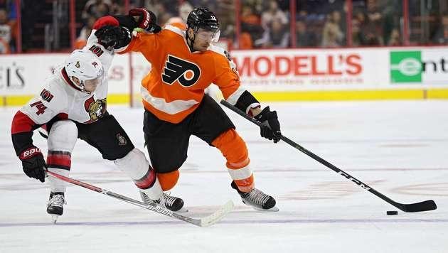 Treffer für Michael Raffl bei Flyers-Niederlage (Bild: Getty Images)