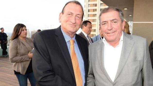 Stadtchef Heinz Schaden (re.) und sein Amtskollege Ron Huldai, der Bürgermeister von Tel Aviv (Bild: Stadt Salzburg)