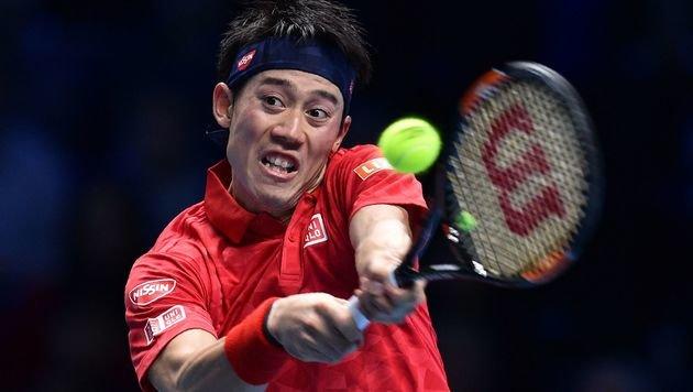 Kei Nishikori (Bild: AFP)