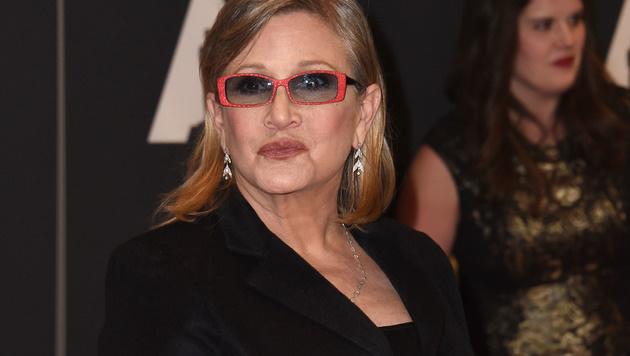 Carrie Fisher (Bild: APA/AFP/VALERIE MACON)