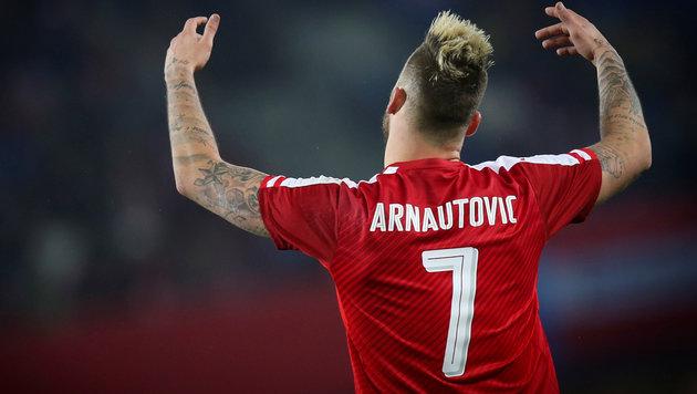 """Arnautovic: """"Ich bin stolz auf die Jungs"""" (Bild: GEPA)"""