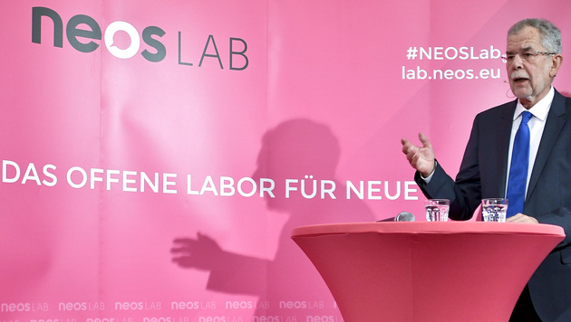 """Van der Bellen: """"Ist die Wahl wirklich so schwer?"""" (Bild: APA/HERBERT NEUBAUER)"""