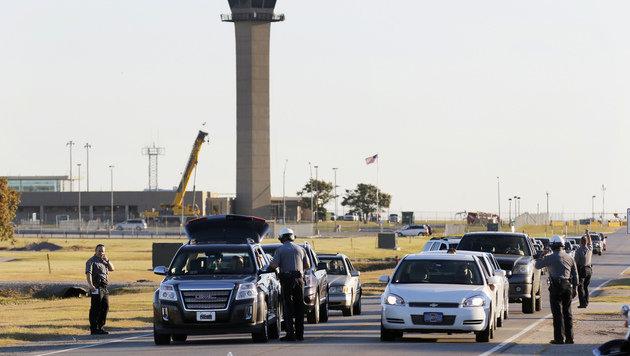Oklahoma City: Zwei Tote bei Schüssen auf Airport (Bild: Associated Press)