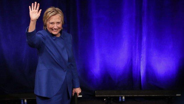 Nach Niederlage: Was ist mit Hillary Clinton los? (Bild: AFP)
