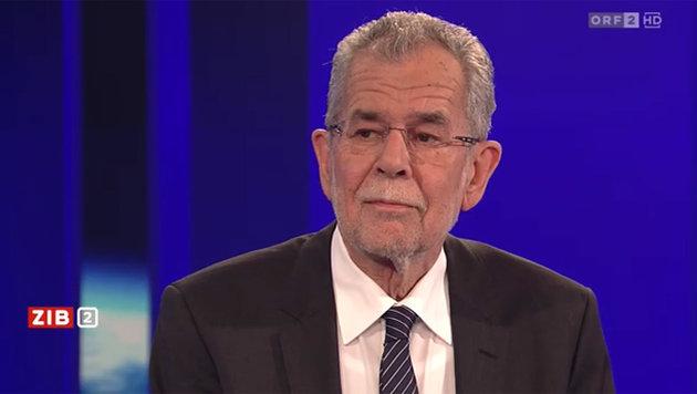 """""""Strache und Hofer sind Teil des Establishments"""" (Bild: tvthek.ORF.at)"""