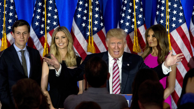 Der Trump-Clan (Bild: AP)