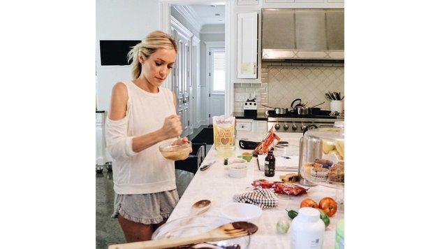 Kristin Cavallari sagt, dass ihr Kochen innere Balance gebe. (Bild: Viennareport)