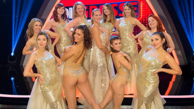 """Die Wiener Hot Box Girls bei der """"Großen Chance"""" (Bild: THOMAS RAMSTORFER)"""