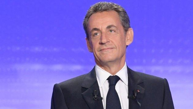 Gadafi-Gelder: Sarkozy verweigert Antwort im TV (Bild: APA/AFP/Pool/Christophe Archambault)