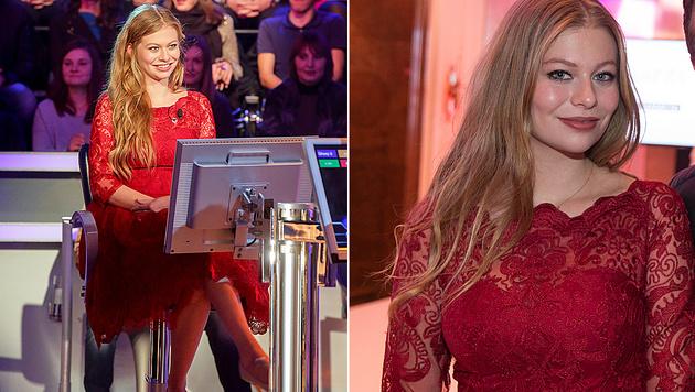 """Vom Charity-Abend bis zur """"Millionenshow"""" â013 Zoës Kleid ist öfter im Einsatz. (Bild: ORF, Neumayr/MMV)"""