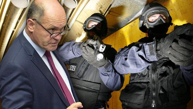 Halbe Milliarde mehr für Österreichs Sicherheit (Bild: APA/HANS KLAUS TECHT, APA/HANS PUNZ)