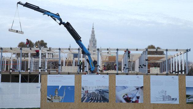 Heldenplatz: Skepsis rund um Großbaustelle (Bild: Zwefo)