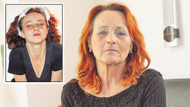 """Der gewaltsame Tod von Petra (kl. Bild) zerbrach ihre Mutter. (Bild: """"Krone"""")"""