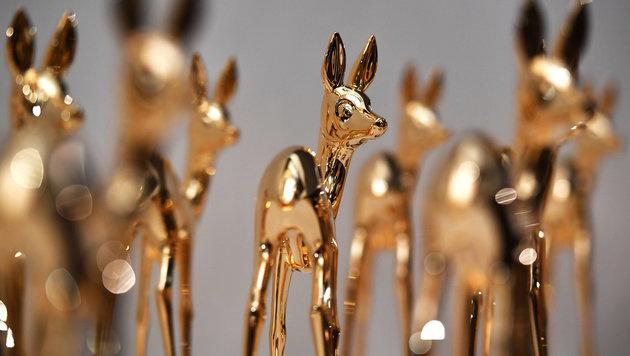 Promi-Gala zur Verleihung der goldenen Rehe (Bild: APA/dpa-Zentralbild/Jens Kalaene)