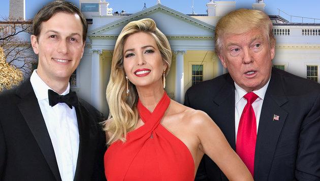 Trump-Schwiegersohn als Fädenzieher im Weißen Haus (Bild: AFP/NICHOLAS KAMM, AFP/Larry Busacca, thinkstockphotos.de)