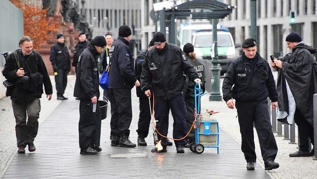 Erhöhtes Sicherheitsaufgebot beim Obama-Besuch in Berlin (Bild: AFP or licensors)