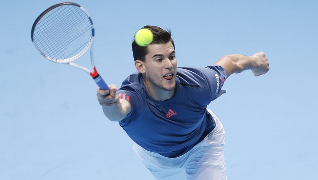 Thiem verliert Hit gegen Aufschlag-Monster Raonic! (Bild: Copyright 2016 The Associated Press. All rights reserved.)