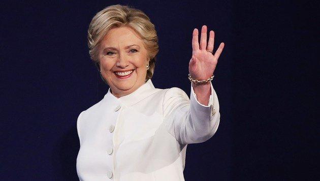 Nach Niederlage: Was ist mit Hillary Clinton los? (Bild: APA/AFP/Getty Images/Drew Angerer)