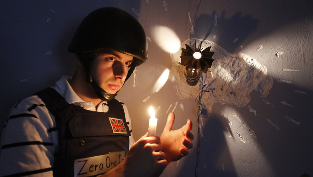"Hostel in Sarajevo mit ""Bosnienkrieg-Feeling"" (Bild: ASSOCIATED PRESS)"