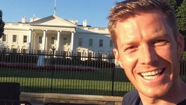 Florian Danner berichtete in den letzten Wochen für PULS 4 von den Wahlen in den USA. (Bild: Florian Danner)