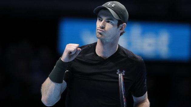 Murray mit Sieg über Wawrinka im Halbfinale (Bild: AP)