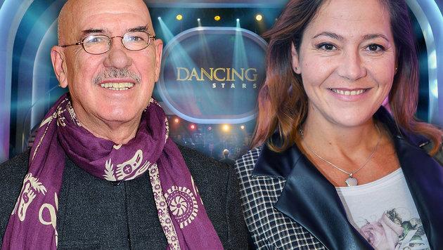 Otto Retzer und Monica Weinzettl sind in Tanzlaune (Bild: ORF, Viennareport)