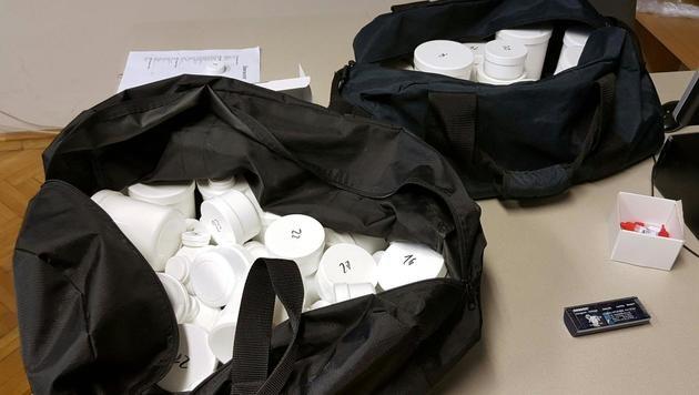 Pharmaziestudent verkaufte Drogen im Darknet (Bild: APA/POLIZEI)
