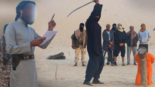 """""""Spione"""": IS enthauptet zwei Priester in Ägypten (Bild: Twitter.com)"""