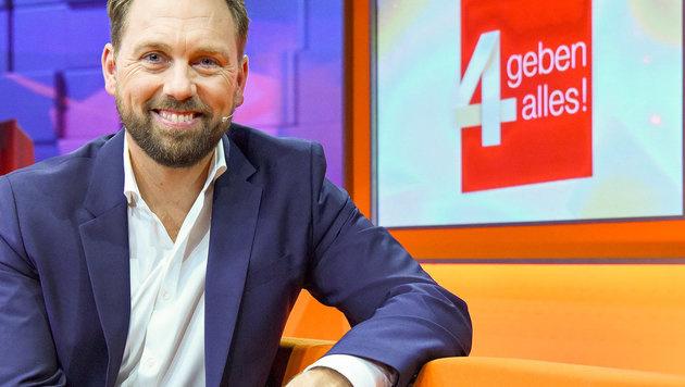Steven Gätjen moderiert neue Eurovisions-Show (Bild: ORF)