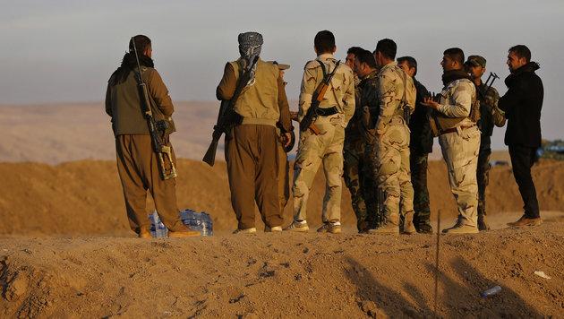 Weiteres IS-Massengrab nahe Mossul entdeckt (Bild: Associated Press)