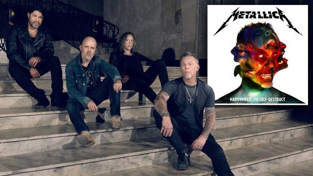 Metallica kündigen Europa-Tournee an (Bild: Universal Music)