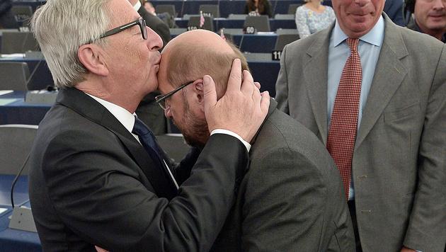 Juncker fürchtet Auseinanderbrechen der EU (Bild: AFP)