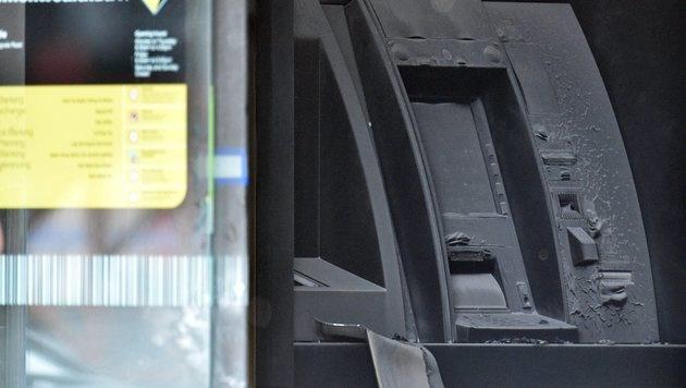 Mann setzt Bankfiliale in Australien in Brand (Bild: EPA/JULIAN SMITH)