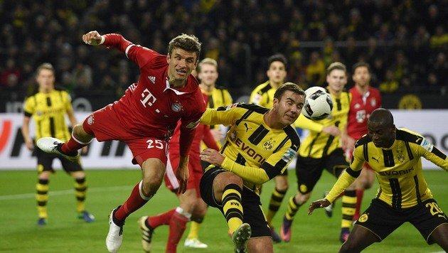Erste Bayern-Pleite! Dortmund siegt im Super-Hit (Bild: AP)